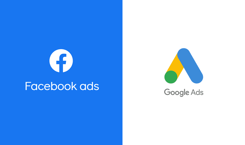 Facebook ADS / Google ADS logos